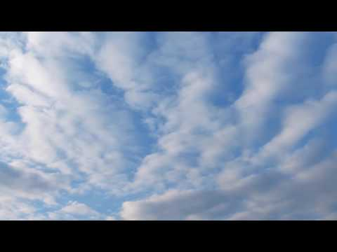 [10 Hours] White Clouds in a Blue Sky Time Lapse - Video & Audio [1080HD] SlowTV