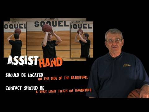 Not Guide Hand, ASSIST Hand!!! -- How to Shoot a Basketball -- Shot Science