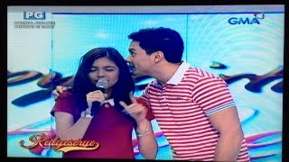 Maine sings The Closer I Get To You on Alden