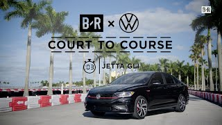 homepage tile video photo for The Jetta GLI Feat. Tyler Herro | Court to Course Challenge