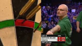 World Cup of Darts 2013 - Last 16 Croatia vs. Northern Ireland