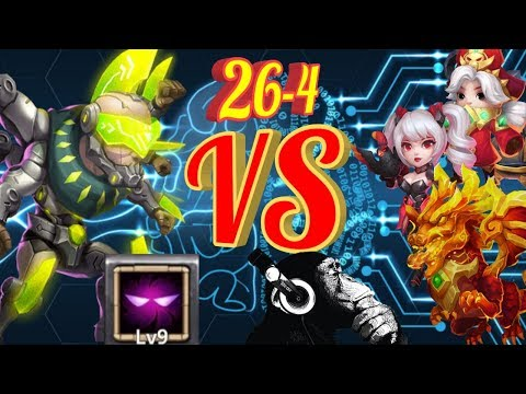 Asura | Unholy Pact | VS 30 Maxed Beasts | Castle Clash