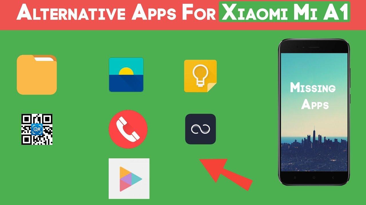 Download Missing Default Apps on Xiaomi Mi A1| हिंदी