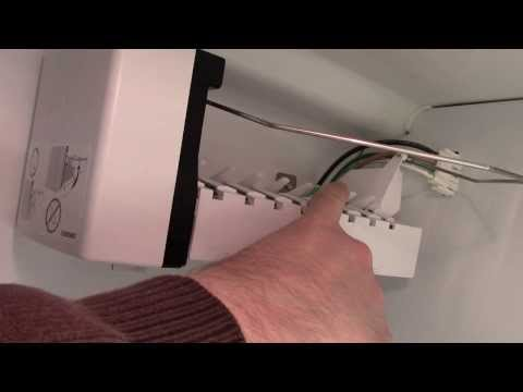 How to remove an ice maker from a KitchenAid Refrigerator