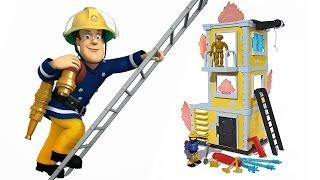 SAM il POMPIERE Italiano - Apriamo la Torre di Addestramento di Sam [Gioco per Bambini]