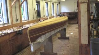Building The Mystic River Tandem Cedar Strip Canoe