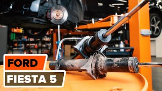 Wartung Ford Fiesta V jh jd Video-Tutorial