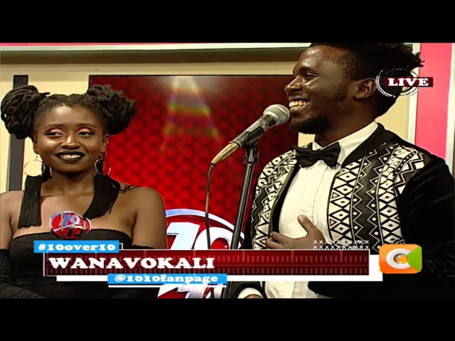 Serenading WanaVokali vocalists