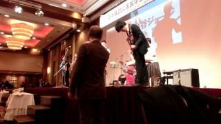 CIMG0344 3 130118-集団災害医学会懇親会-日赤バンドfuturing 小谷穣治2(ジョージ大谷)/Joji Kotani