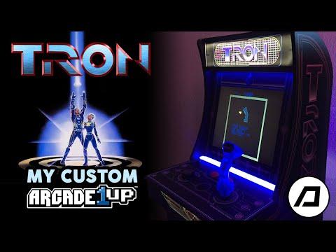 My custom TRON Arcade1Up from DJ D-CEPTICON
