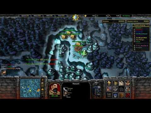 WarCraft 3 Farmer Vs Hunter #416 Farmer