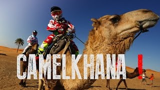 THE AFRIQUIA MERZOUGA RALLY :  CAMELKHANA ONE