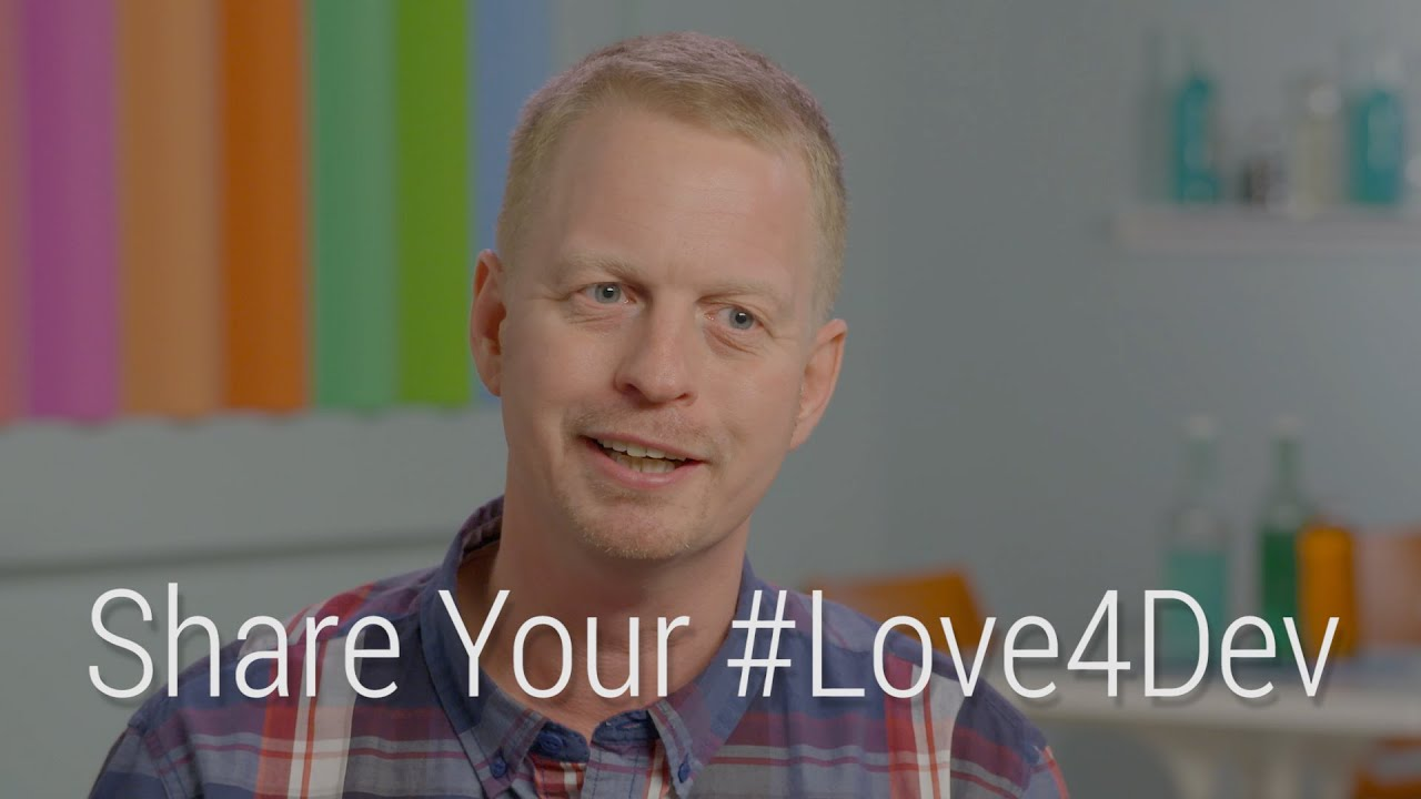 #Love4Dev - What Magnus Hyttsten loves most about the power of mobile APIs - YouTube