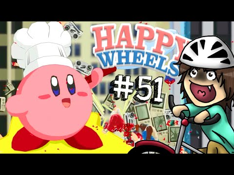 KIRBY SU HAPPY WHEELS??! - Happy Wheels [Ep.51]