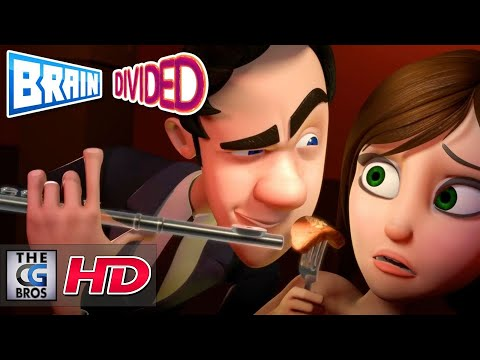 "CGI Animated Shorts: ""Brain Divided"" - by Josiah Haworth, Joon Shik Song & Joon Soo Song"