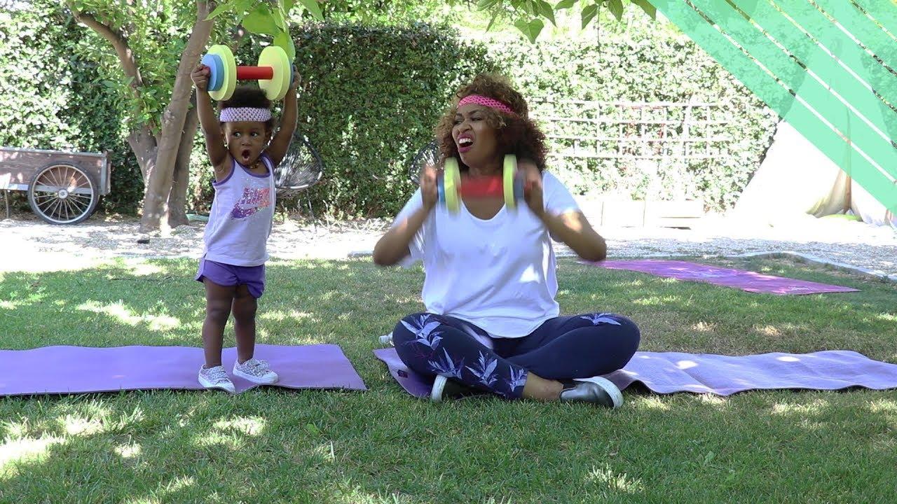 Baby Exercise - GloZell xoxo