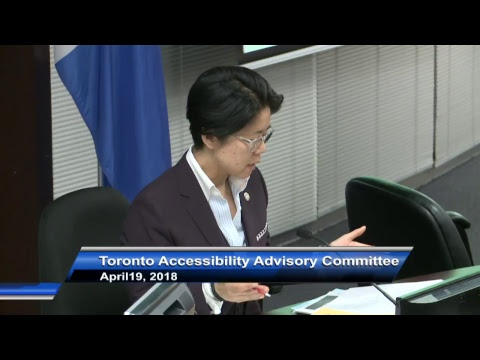 Toronto Accessibility Advisory Committee - April 19, 2018