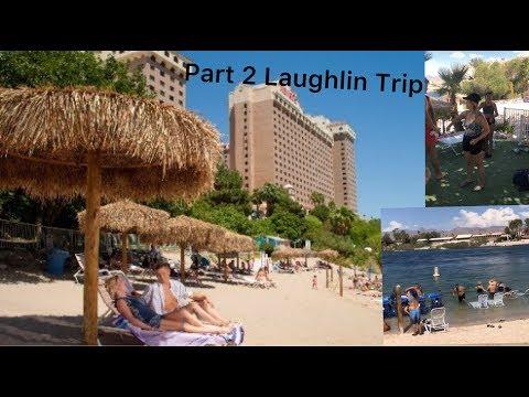 Laughlin's Harrah's Casino Private Beach 2019