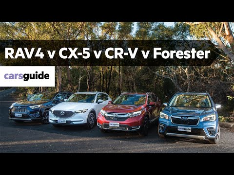 Honda CR-V vs Mazda CX-5 vs Toyota RAV4 vs Subaru Forester 2019 review