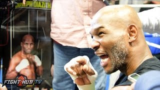 """Bernard Hopkins """"Roy was one dimensional! When that one thing left him a mediocre fighter KO'ed him"""