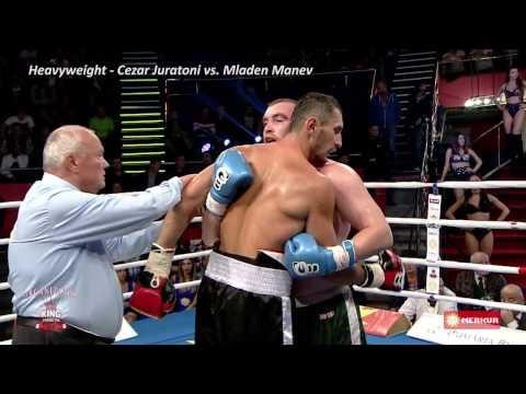 "Gala De Box Profesionist ""Bombardament In Arena"" - Cezar Juratoni (Romania) Vs. Mladen Manev"
