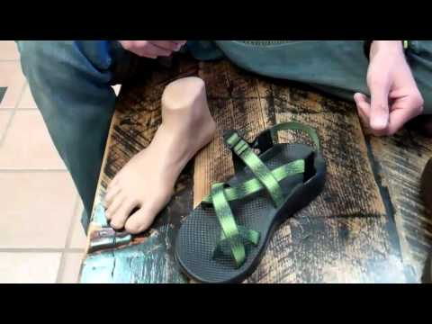 Chaco Sandal Fitting and Features