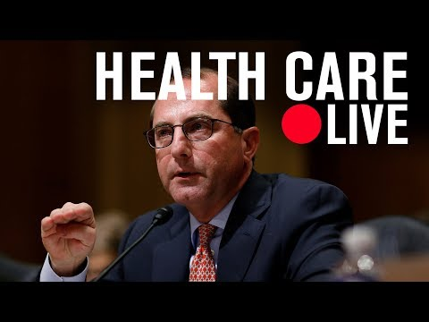 Sec. Alex M. Azar II: Fixing health care | LIVE STREAM