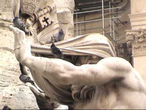EP. #77 Angels & Demons Tour of Rome: WATER (Piazza Navona) part 1 of 3