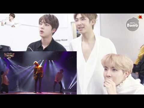 HD1080 Eng Sub BTS (RM JIN JH)react To Jimin Dancing With Taemin And Kook Singing With 97-line Idols