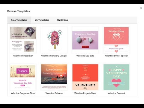 Freebie Valentines Day Email Templates Youtube