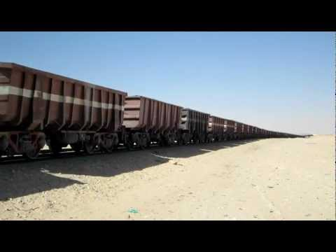 SNIM Mauritania Railway Nouadhibou station