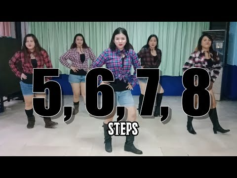 5,6,7,8 | Steps | Retro Dance Fitness | JM