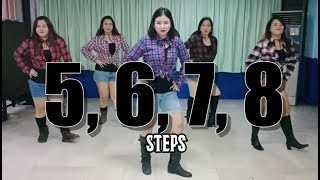 5, 6, 7, 8 | Steps | Retro Dance Fitness | JM