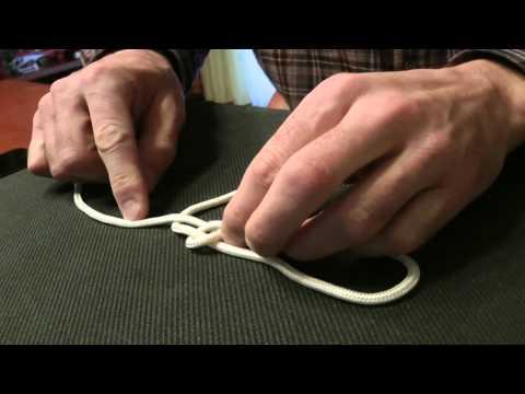 Как привязать крючок, легко и быстро? (Стандартный узел) HD