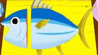 ГОТОВКА ЧЕЛЛЕНДЖ МАСТЕР СУШИ мультяшная веселая развлекательная игра видео для детей #ПУРУМЧАТА