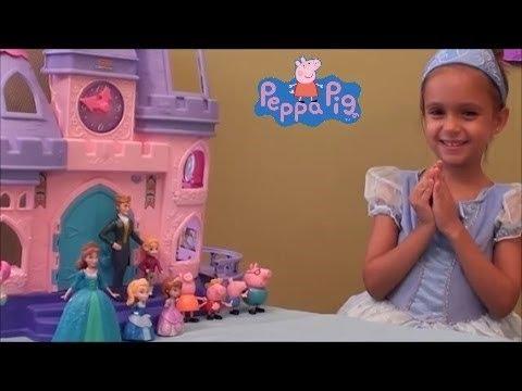 Peppa Pig Adventures: Compilation Mysterious island, Disney Princess Castle, Disney Princess Parade
