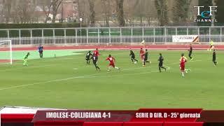 Serie D Girone D Imolese-Colligiana 4-1