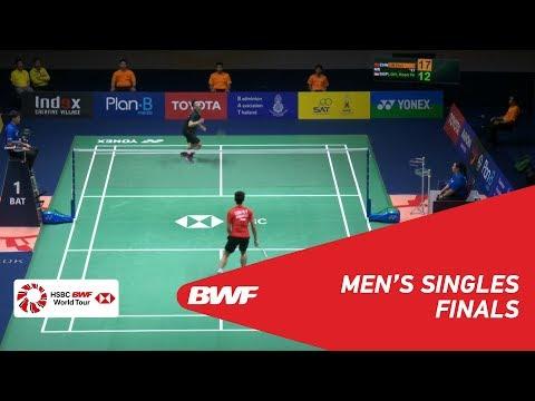 F | MS | LIN Dan (CHN) [1] vs LOH Kean Yew (SNG) | BWF 2019