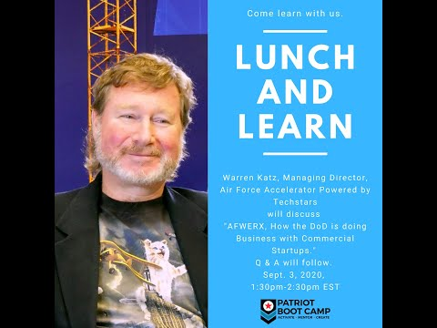 Patriot Boot Camp Lunch And Learn With Warren Katz