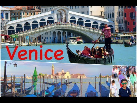 Europe Travel Diaries: Venice, Italy - by Ishaan & Family