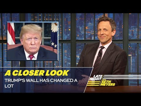 Trumps Wall Has Changed a Lot: A Closer Look