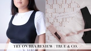BRA101 PT 8: I TRIED ON DIFFERENT BRAS FROM TRUE & CO. | INMYSEAMS