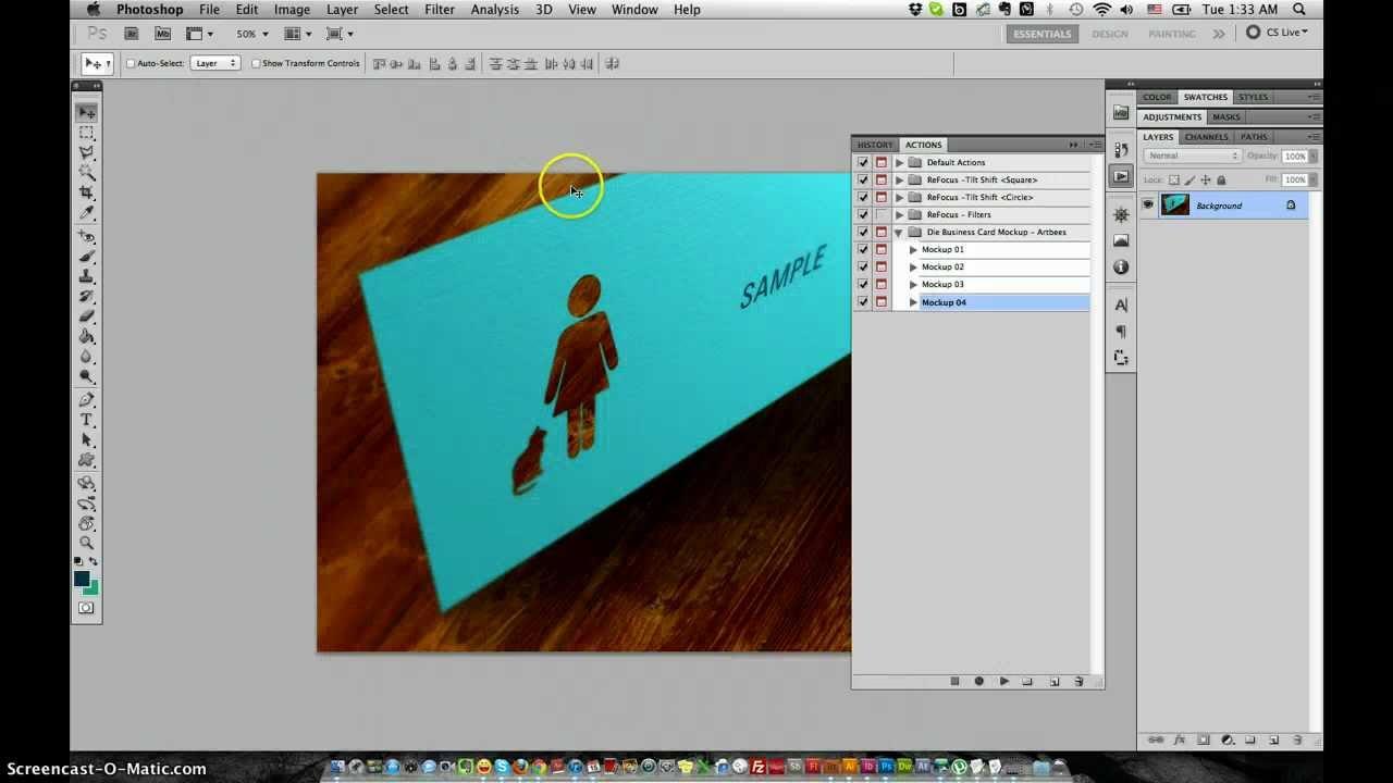 Die cut business card mockup guide youtube die cut business card mockup guide reheart Images