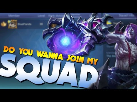 Mobile Legends Can You Join My Squad? (The Best Squad)