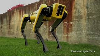 The New Spot Mini from Boston Dynamics