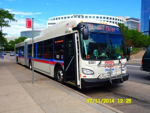 Denver RTD: Bus Observations - Part 1/6