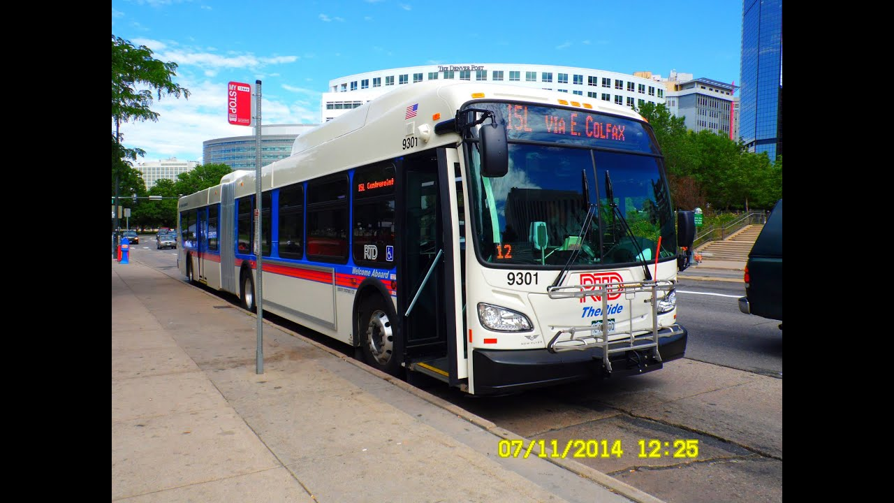 Denver Rtd Bus Observations Part 1 6 Youtube
