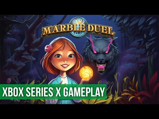 Marble Duel - Gameplay (Xbox Series X) HD 60FPS