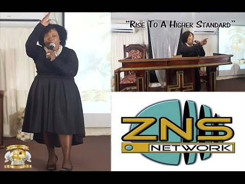 Rise To A Higher Standard ministered by Apostle Dr Carolyn Cooper -  ZNS Radio Live Broadcast