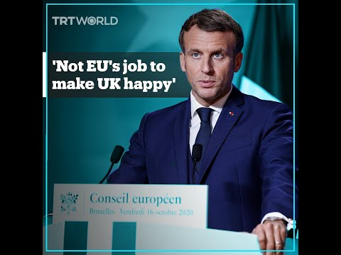 Macron: EU is not in the business of making British PM happy